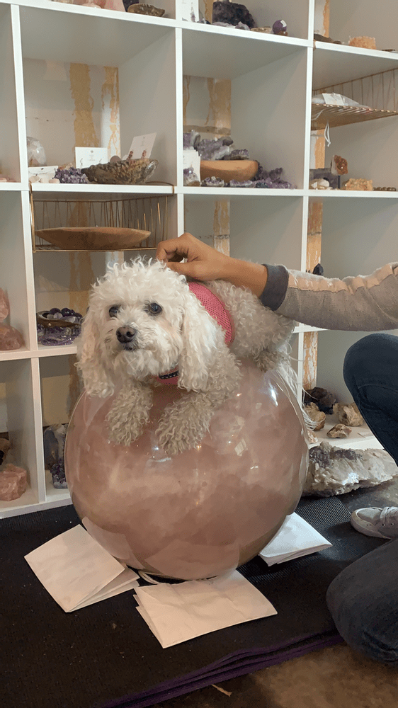 Meet Our 310 Lb Rose Quartz Ball